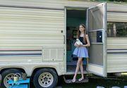 Cum a transformat o fetiță de 11 ani o rulotă veche într-o casă de lux. FOTO de necrezut