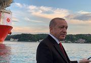 Turcia a descoperit în Marea Neagră cele mai mari depozite de gaze naturale din istoria sa