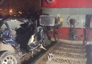Accident cumplit la Mangalia. O mașină a fost zdrobită de tren
