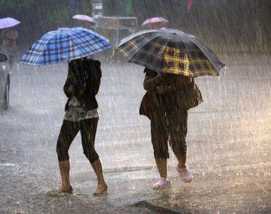 Avertizare de la ANM de vreme severă. Urmează trei zile de ploi și descărcări electrice