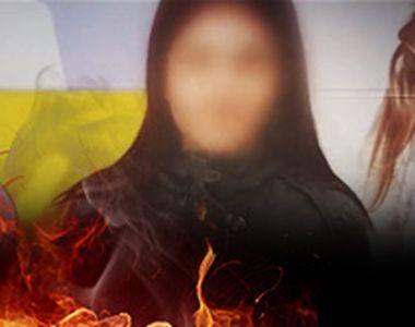 VIDEO - Fata incendiată, părăsită în spital de familie