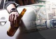 VIDEO - La volan, cu bere și viteză