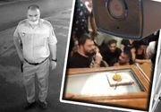 VIDEO - Întâlnire de taină între polițiști și interlopi, înainte de înmormântarea lui Emi Pian. Camerele de supraveghere au surprins tot!