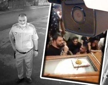 VIDEO - Întâlnire de taină între polițiști și interlopi, înainte de înmormântarea lui...