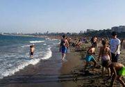 Temperatura apei mării pentru săptămâna 24-30 august în principalele stațiuni din Constanța: Mamaia, Eforie, Vama Veche sau Costinești