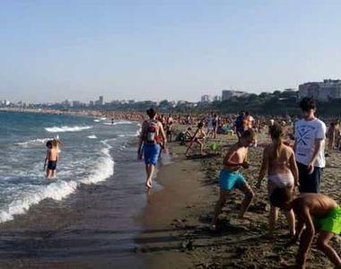 Temperatura apei mării pentru săptămâna 24-30 august în principalele stațiuni din...