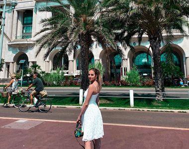 Fiica lui Crin Antonescu a pozat în costum de baie pe Coasta de Azur! Irina s-a distrat...