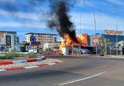 Incendiu de ultima oră la Constanța