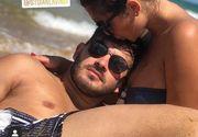 """Imagini de senzație cu Mona și George de la """"Puterea Dragostei"""" la plajă. Cei doi sunt mai îndrăgostiți ca niciodată"""
