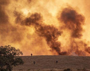 Incendiu de pădure în Andaluzia: Peste 3.200 de persoane, evacuate