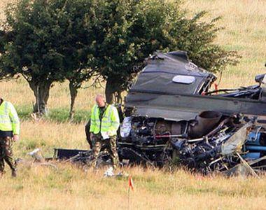 A scăpat cu viață din elicopterul prăbușit în care au murit 4 oameni, dar s-a sinucis...