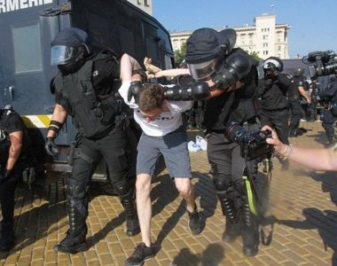 Proteste violente la Sofia, împotriva premierului Boiko Borisov - VIDEO