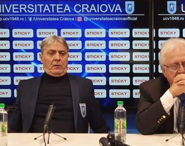 Panică în fotbalul românesc! Președintele, finanțatorul și managerii Craiovei au fost...