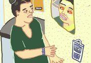 Fata care se confruntă de șase luni cu virusul COVID-19 a explicat totul în câteva desene