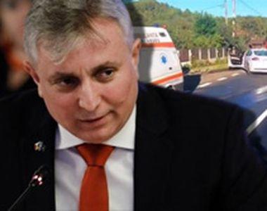 VIDEO - Ministrul Bode refuză să dea explicații după accident