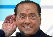 Silvio Berlusconi, testat pozitiv cu noul coronavirus. Fostul premier are 83 de ani