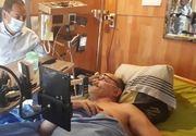 Imagini cu puternic impact emoțional! Un francez care suferea de o boală incurabilă a vrut să îşi transmită în direct moartea