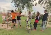 VIDEO   Bătut de la o joacă de copil