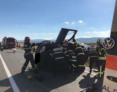 Tragedie în Vrancea. O persoană și-a pierdut viața şi alte patru au fost rănite în urma...