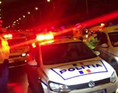 VIDEO   Focuri de armă după un şofer fugar
