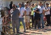 VIDEO | Cozi uriaşe la Salina Slănic Prahova
