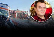 VIDEO - Tragedie în Satu Mare: Un asistent de pe ambulanță a murit într-un accident rutier