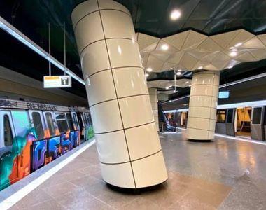 VIDEO - Metroul din Drumul Taberei, gata de plecare