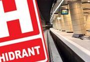 VIDEO - Epopeea metroului din Drumul Taberei este departe de a se fi încheiat. Metroul s-a împotmolit într-un hidrant