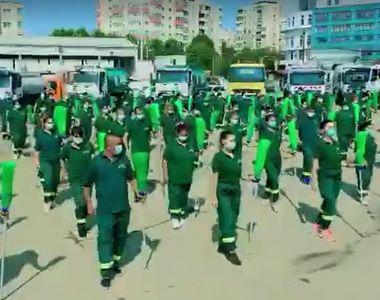 """VIDEO - Angajații ADP Sector 4 dansează """"Jerusalema"""". Imagini virale!"""