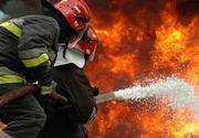 Incendiu la un hotel renumit din București