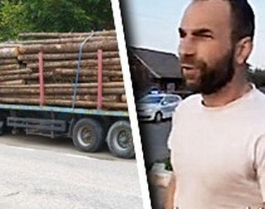 VIDEO - Un activist de lemne a fost bătut măr de bărbații care tăiau ilegal pădurea