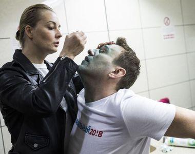 Prima imagine cu Navalnîi după iesirea din coma