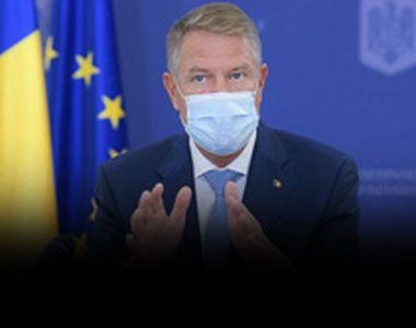 """Klaus Iohannis, mesaj după recordul de noi cazuri de coronavirus: """"Pandemia e..."""