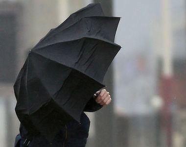 Se strică vremea de azi. ANM a emis COD galben de fenomene extreme în 10 județe