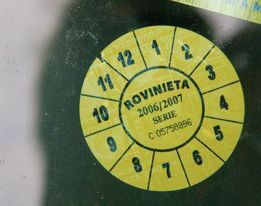 Verificare rovinietă. Cum verifici valabilitatea rovinietei online