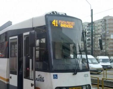 Accident cumplit în Bucureşti: Un bărbat a fost lovit mortal de tramvaiul 41
