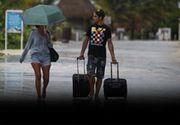 VIDEO - Uragan în Grecia. Mai mulți turiști români au rămas blocați pe insule