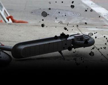VIDEO - Bărbat ucis de trotineta electrică. Martor: L-a lovit!