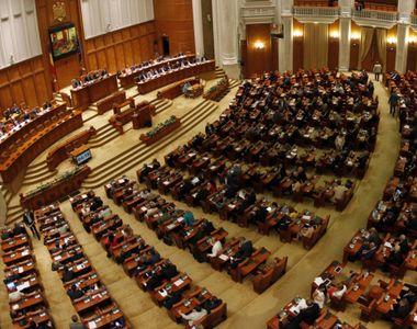 VIDEO - Parlamentarii discută despre bani. Rectificare bugetară