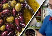 VIDEO - Măsline vopsite pe piață. Specialist: Pericol la fiecare pas