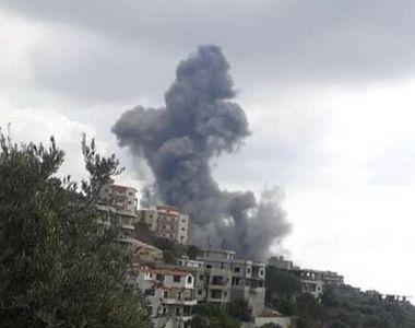 Explozie puternică în Liban