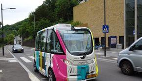 Braşovul, primul oraş din România care testează un autobuz fără șofer