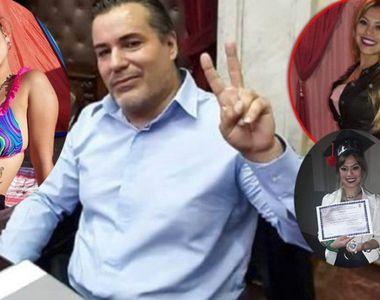 VIRAL. Scene erotice în Parlamentul din Argentina. Un deputat a dezvelit sânii soției...