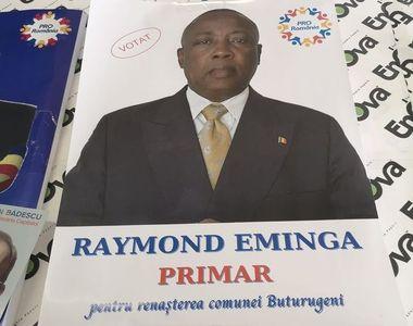 Congolezul Eminga vrea să fie ales primar după ce a părăsit partidul lui Liviu Dragnea!...