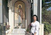 Adriana Bahmuțeanu s-a dus la biserică înainte să voteze! Candidatei la primărie i s-a arătat un semn divin! FOTO