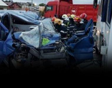 VIDEO - Șase oameni răniți. Accident teribil în Iași
