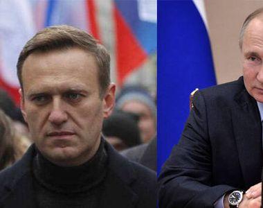 """""""Putin este în spatele otrăvirii mele"""". Opozantul rus Aleksei Navalnîi,..."""