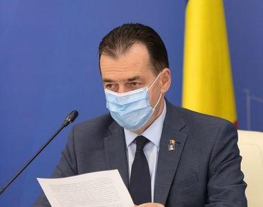 """Premierul Orban anunță noi restricții pentru """"zonele roșii"""" ale României"""
