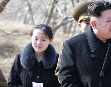 """Sora lui Kim Jong-Un a reapărut în public, la două luni după """"dispariție""""...."""