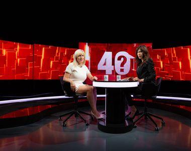 """Elena Udrea răspunde AZI la """"40 de întrebări cu Denise Rifai""""! Emisiunea-fenomen..."""